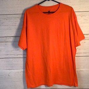 Hanes Hunter Orange T-Shirt